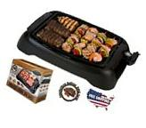 Electric Grill Indoor Smokeless BBQ Non Stick Cooking