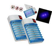 2X Electric LED Mosquito Fly Bug Insect Trap Zapper Killer