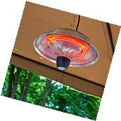 Electric Patio Heater Outdoor Infrared Hanging Deck Radiator