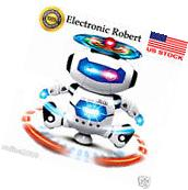 Electronic Smart Robot Walking Dancing Space Astronaut Kids