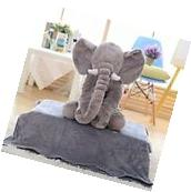 Elephant Baby Pillow Bedding Stuff Plush Bed Pillows Doll