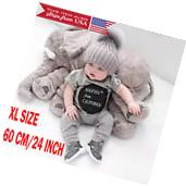 New Elephant Pillow Cushion Stuffed Doll Toy Baby Kids Soft