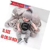 New Elephant Pillow Cushion Stuffed Doll Toy Baby Kids Soft