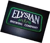 ELYSIAN BREWING COMPANY LOGO PATCH iron on craft beer
