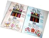 DMC Embroidery Floss SATIN Lot of 2 - PASTEL WHISPERS &