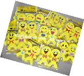 24 X EMOJI ERASERS PARTY FAVORS KIDS  EMOTIONS RECUERDOS 12