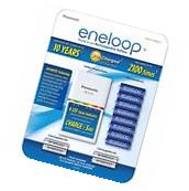 Eneloop Rechargeable 12 Battery Kit 8 AA, 4 AAA And Quick