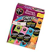 4C Energy Rush Drink Mix Variety -Taurine - water enhancer
