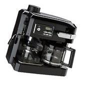 Espresso Machine Cappuccino Coffee Maker Combo Black Kitchen