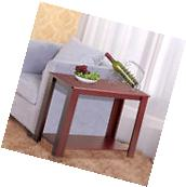 Chair Side Table Narrow End Table Small Spaces Side Table