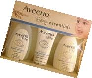 Aveeno Baby Essentials 8 Oz Set