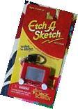 ETCH A SKETCH Keychain Keyring toy classic retro Mini Shake