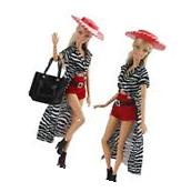 Evening Wedding Party Clothes Casual Dress Outfit Set for