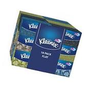 Kleenex Everyday Facial Tissues High Count Flat 210 ct  18