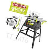 "Craftsman Evolv 15 Amp 10"" Table Saw with Stand +"