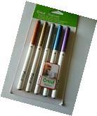 Cricut Explore Metallic Pen Set, Medium Point 1.0 - 5 Pens