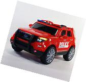 Ford Explorer Style Ride On Car Toy for Kids W Remote