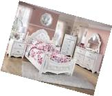 Ashley Exquisite B188Y Full Size Poster Bedroom Set 6pcs in