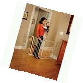 "Extra Wide 76"" Expanding Baby Pet Safety Gate Easy"