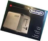 Brand New Delonghi Extra Wide 2-Slot Toaster Model CTH2003