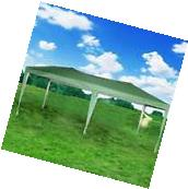 10'x20' Outdoor EZ Pop Up Canopy Wedding Party Tent Folding