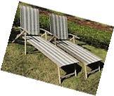 Set of 2 Mainstays Fair Park Deck Patio Sling Folding Pool