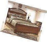 Ashley Fairbrooks Estate B105 King Size Bedroom Set 2 Night
