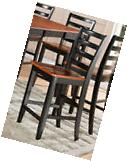 Set of 2 Fairwinds counter height bar stool chairs plain