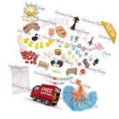 86pcs Fairy Garden Dollhouse Miniature Ornament DIY Kit with