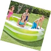 Family Lounge Pool Intex Center Inflatable Swim Kids Water