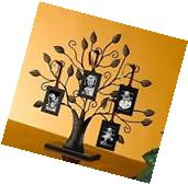 Family Tree Picture Frame Decor With 4 Hanging Photo Frames