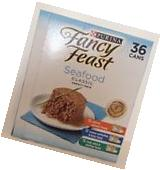 PURINA FANCY FEAST SEAFOOD CLASSIC VARIETY PACK 36 CANS, 3