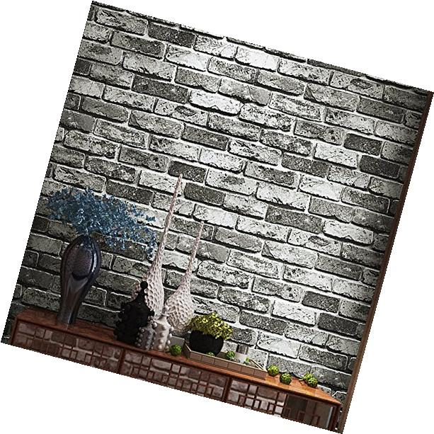 Blooming Wall Faux Rustic Brick Wallpaper Roll for
