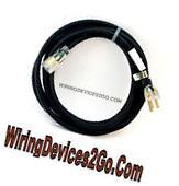 25' FEET 12/3 Gauge Black SJTW INDOOR OUTDOOR Extension Cord