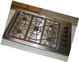 "Frigidaire FFGC3625LS 36"" Stainless Gas Cooktop w/5 Sealed"