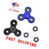 Multicolor Design Fidget Hand Tri-Spinner Anxiety & Stress