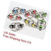 Fidget Ring Toy Key Ring Chain Toys For Autism ADHD Relief