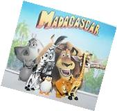 Madagascar Figure Set of 5 with Alex, Marty, Gloria, Melman