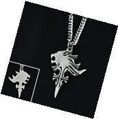NEW Final Fantasy VIII FF8 Sleeping Lion Head Pendant Metal