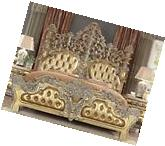 Homey Design HD-8016 Victorian Carved Frame Rich Gold Finish