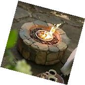 Outdoor Fire Pit Fireplace Campfire Patio Deck Backyard