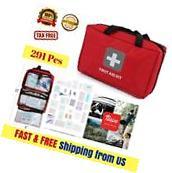 PRO First Aid Kit EMS EMT Emergency Medical Bag Home Car
