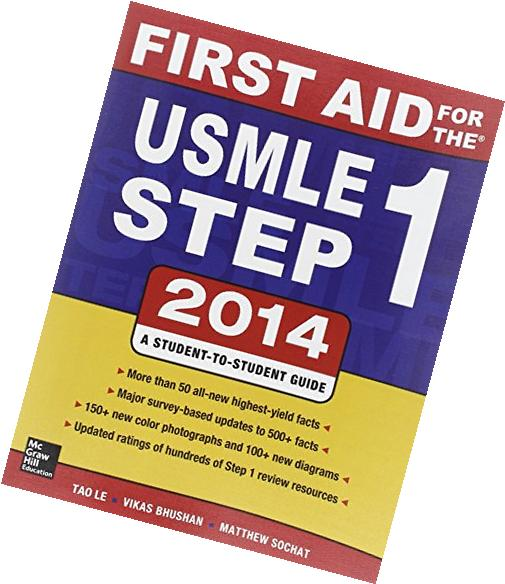 First Aid for the USMLE Step 1 2014 2014