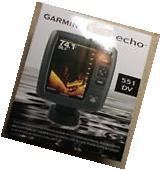 Fish Finder for Boats With Transducer Garmin Echo 551dv