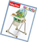 NEW Fisher Price Rainforest Healthy Care High Chair Baby