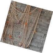 Fishing Net Sea Shell Starfish Hanging Home Wall Decoration