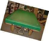 FITTED CORNERS 9 FT. POOL TABLE COVER  cues pool billiards