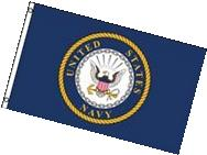 Flag of the US Navy  3'x5' Polyester