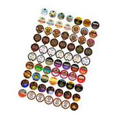 Flavored Coffee Single Serve Cups/K cups Variety Pack