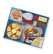 Melissa & Doug Flip and Serve Pancake Set 19 pcs - Wooden